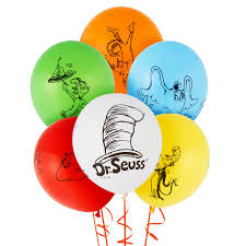 dr seuss favorites themed balloon birthdayexpress