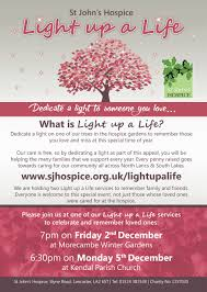light up a life morecambe service st john u0027s