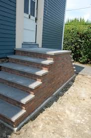 stair mesmerizing home exterior design ideas using brick front