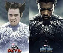 Meme Black - white devil black panther is it funny or offensive