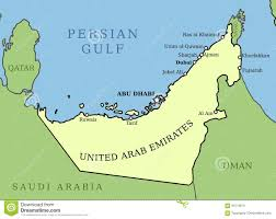 uae map uae map stock vector image of dhabi arab capital ajman 91213613