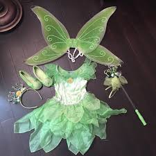 tinkerbell costume 20 disney other deluxe authentic tinkerbell costume from