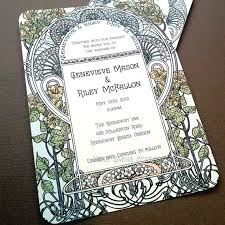 the gatsby effect a look at art deco wedding invitations paperlust