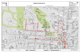 Map A Run Route by 7th Annual Rhythm U0026 Roots Run Earl Scruggs Center
