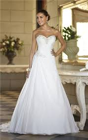 corset wedding dress a line sweetheart corset back chiffon beaded wedding dress with