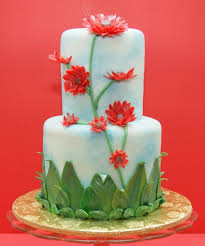 happy birthday flower images with cake flower cake pictures