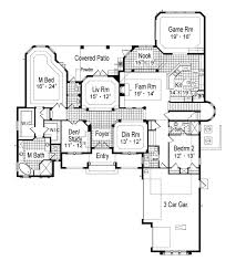 santa barbara style home plans santa barbara 6428 5 bedrooms and 5 baths the house designers