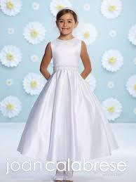 plus size first communion dress with elegant v back from catholic