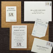 wedding pocket invitations pocket invitation brown recycled matte pocket metallic copper