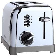 Cuisinart Toasters Cuisinart Metal Classic 2 Slice Toaster Cpt 160