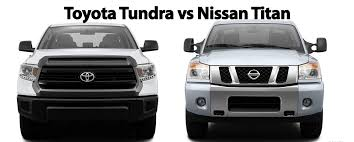 nissan tundra toyota tundra vs nissan titan toyota of ardmore