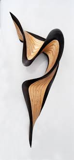 wenge jive by kerry vesper wood wall sculpture artful home