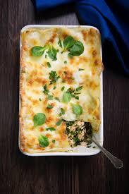 cuisine epinard recette lasagnes au saumon et épinards