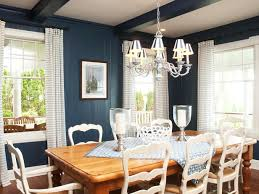 Interior Home Accessories - Navy blue dining room