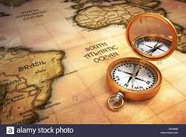 Map Compass Compass Map Closeup Brass Stock Photos U0026 Compass Map Closeup Brass