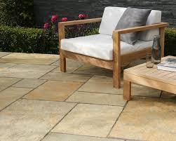 Lifestyle Garden Furniture Trustone Cotsdale Buff Brown Limestone Garden Paving Stonemarket
