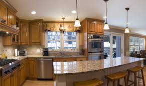 satiating design glass kitchen lights as three hole kitchen faucet