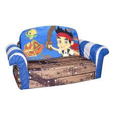 flip open sofa amazon com marshmallow fun furniture jake and the neverland pirates