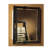 frameless recessed medicine cabinet amazon com jensen 1450bc mirror on mirror frameless single door
