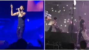 stage en bureau d ude fan records stage incident at trey songz concert in detroit daily