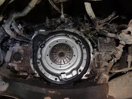 subaru forester clutch replacement youtube