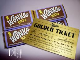 wonka bars where to buy willy wonka birthday party wonka bar golden ticket