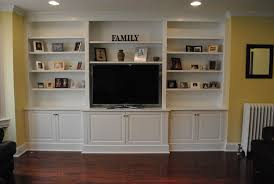 built in tv cabinet wall units awesome built in bookshelves around