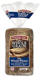 pepperidge farm light bread amazon com pepperidge farm whole grain bread wheat 24 ounce