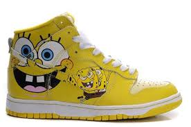 on sale nike dunk sb high top mens shoes spongebob squarepants