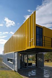 shipping containers make up a stunning story home view in huiini