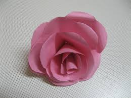 paper roses how to make real looking paper roses 7 steps with pictures