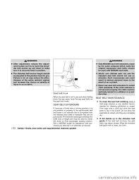 warning nissan xterra 2011 n50 2 g owners manual