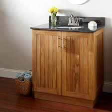 teak bathroom vanity interiors design