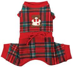 plaid christmas plaid christmas dog pajamas plaid christmas dog jumpsuit