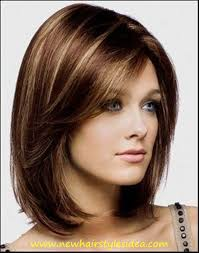 short hairstyles with bangs and layers hairstyles