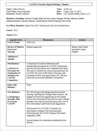 Business Meeting Minutes Template Word word minute template pertamini co