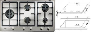 whirpool piani cottura piano cottura whirlpool gmf 9522 ixl 90cm piani cottura