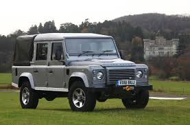 land rover defender 2010 2012 land rover defender 110 double cab pickup photo gallery