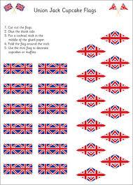 union jack cupcake flags uk t48 traveling u0026 destinations