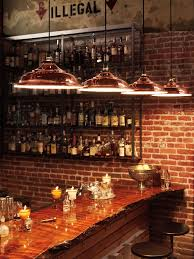 Bar Wall Shelves by Metal Wall Shelves Basement Traditional With Bar Light Kitchen