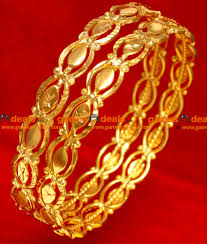 2 6 size gold plated imitation traditional daily wear south indian
