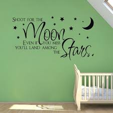 Wholesale Wall Decor Sale On Ebay Shoot For The Moon Stars Quote Wholesale Wall