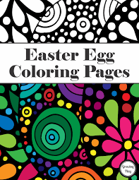 easter egg coloring pages growing play