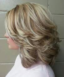 medium length layered hairstyles back view google search hair