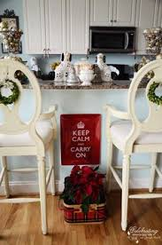 Christmas Decoration For Kitchen Island by Decorating Kitchen Island Countertop Ideas Christmas Decorating