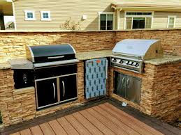 built in smoker outdoor kitchen perfect bbq island build custom