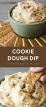 thanksgiving chocolate chip cookies cookie dough dip homemade hooplah