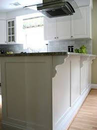 Adding Trim To Kitchen Cabinets by Use Crown Molding And Cabinet Trim To Make Soffit Look Custom