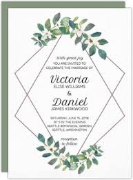 wedding invitations greenery wedding invitations wedding invites
