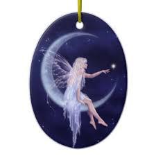 crescent moon and ornaments keepsake ornaments zazzle